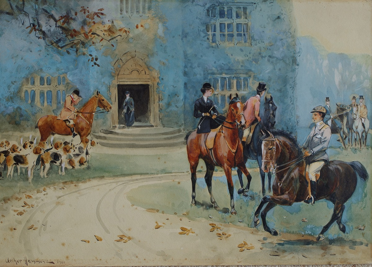 The Meet at the Old Hall