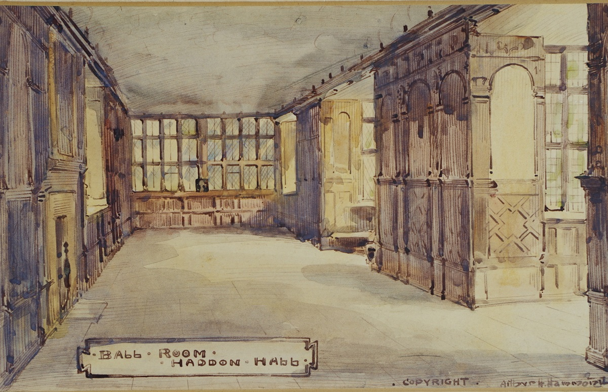 The Ball Room, Haddon Hall
