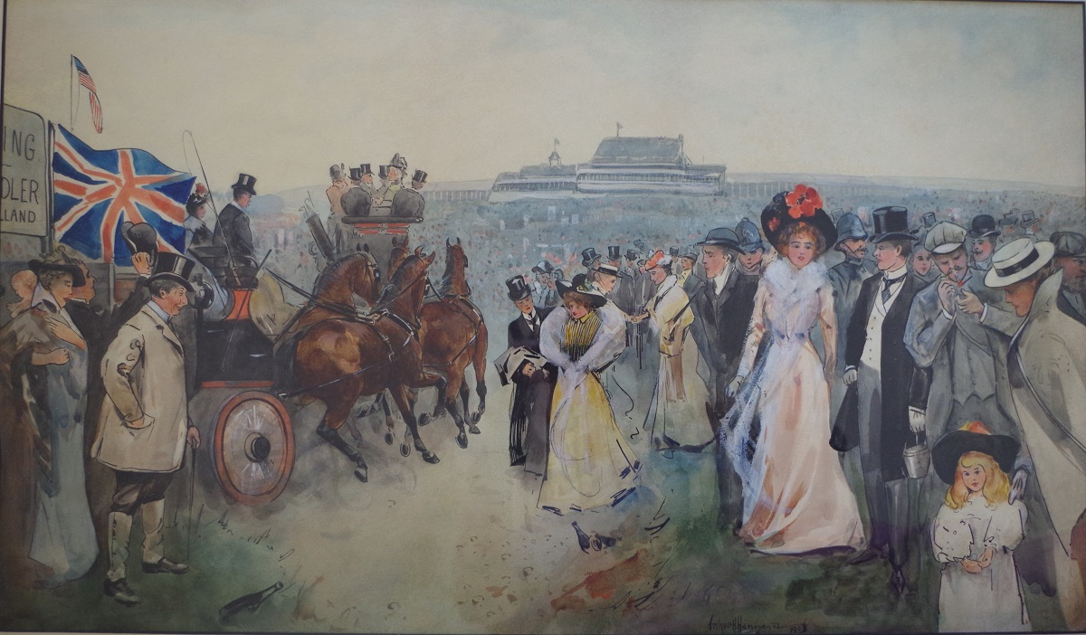 Returning from the Derby, 1901